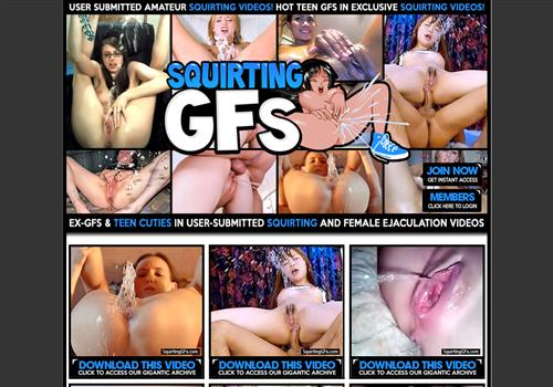 Squirting GFs