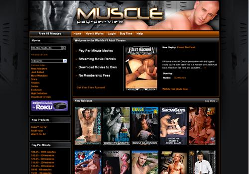 Gay muscle pay per view