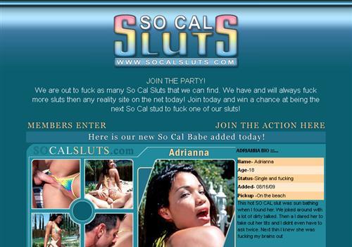 So Cal Sluts