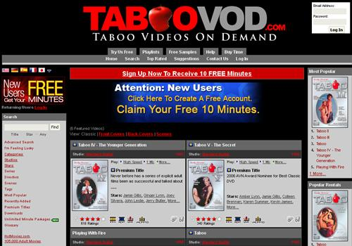 Adult video pay per minute sites