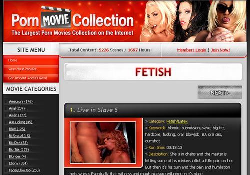 Fetish Porn Movie Collection