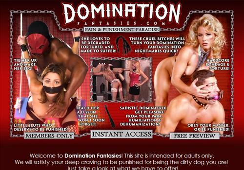 Female Domination Fantasies