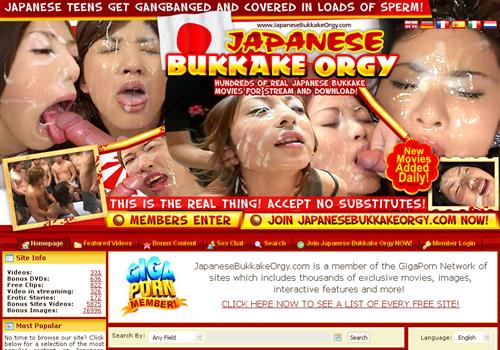 ... full length Japanese bukkake porn DVDs for download in various bit-rates ...
