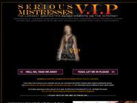 Serious Mistress VIP