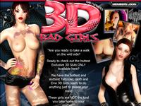 3D Bad Girls