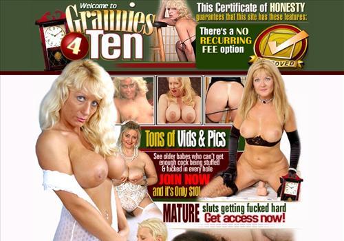 Grannies 4 Ten