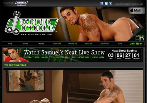Samuel O'Toole - Bisexual and gay pornstar love to have sex ...