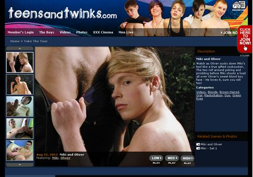 ... adult pay sites directory and vote for this Teen Gay Boy paysite below.