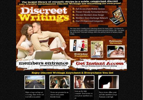 Writting erotica stories