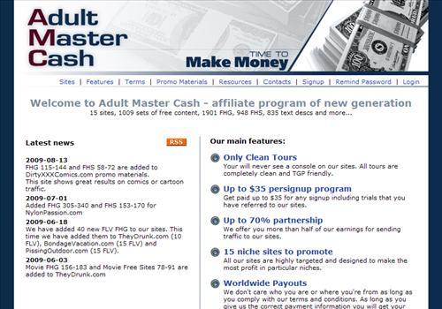Adult Master Cash